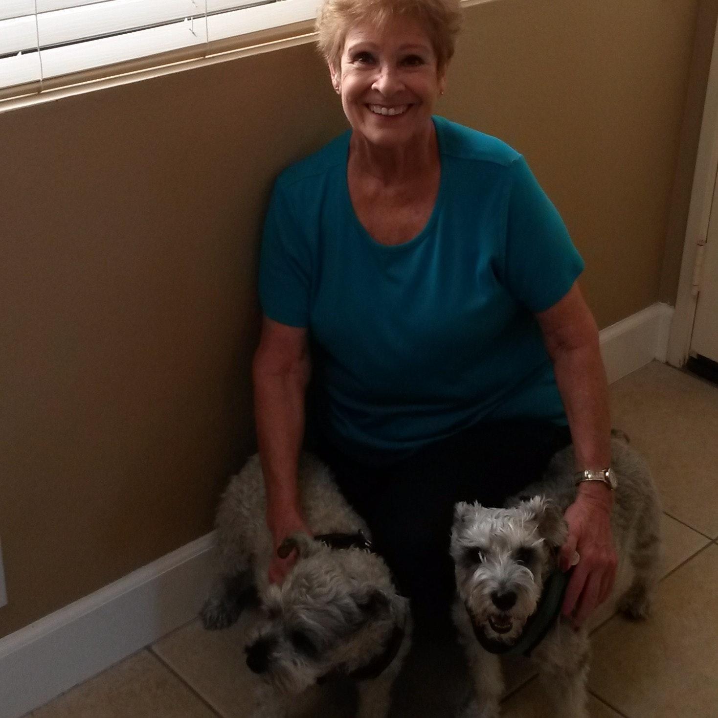 dog walker Patricia (Trish)