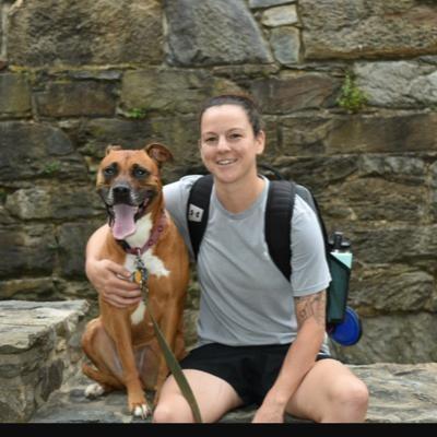 dog walker Rebeka