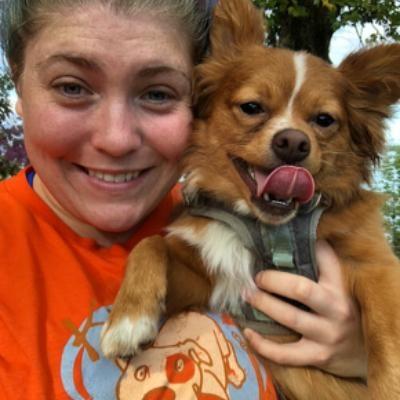 dog walker Becca