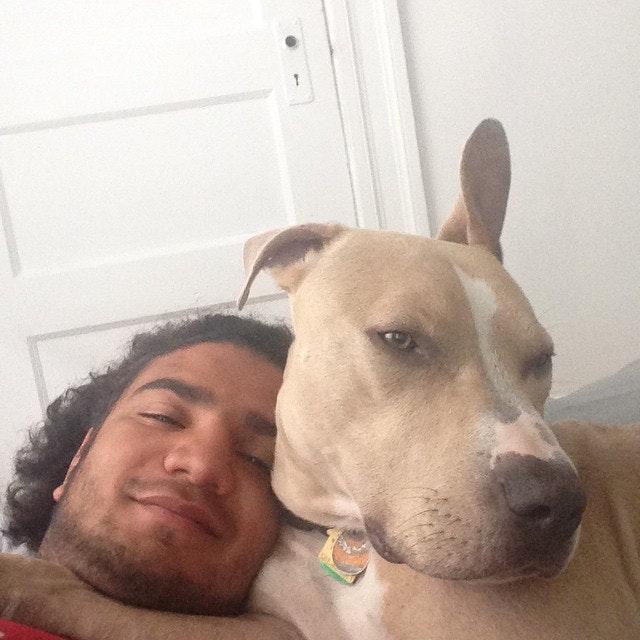 dog walker Matheus