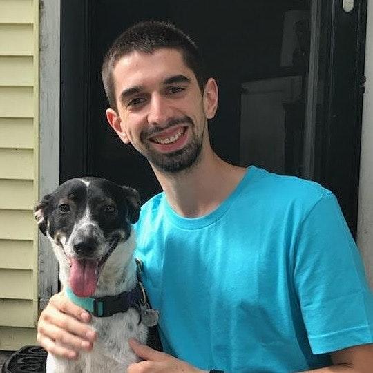 dog walker Mitch