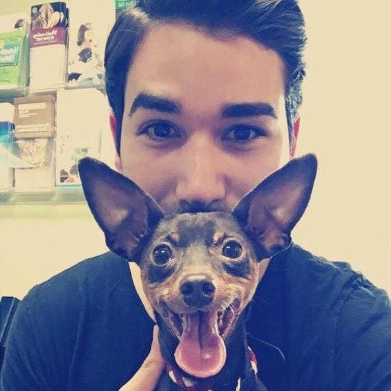 dog walker Roberto
