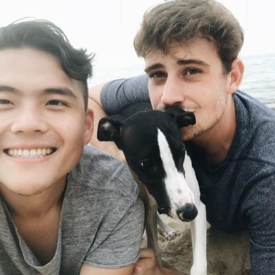 Zac P. and Mugi P.