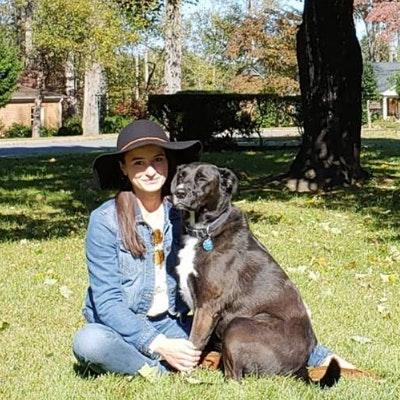 dog walker Katie
