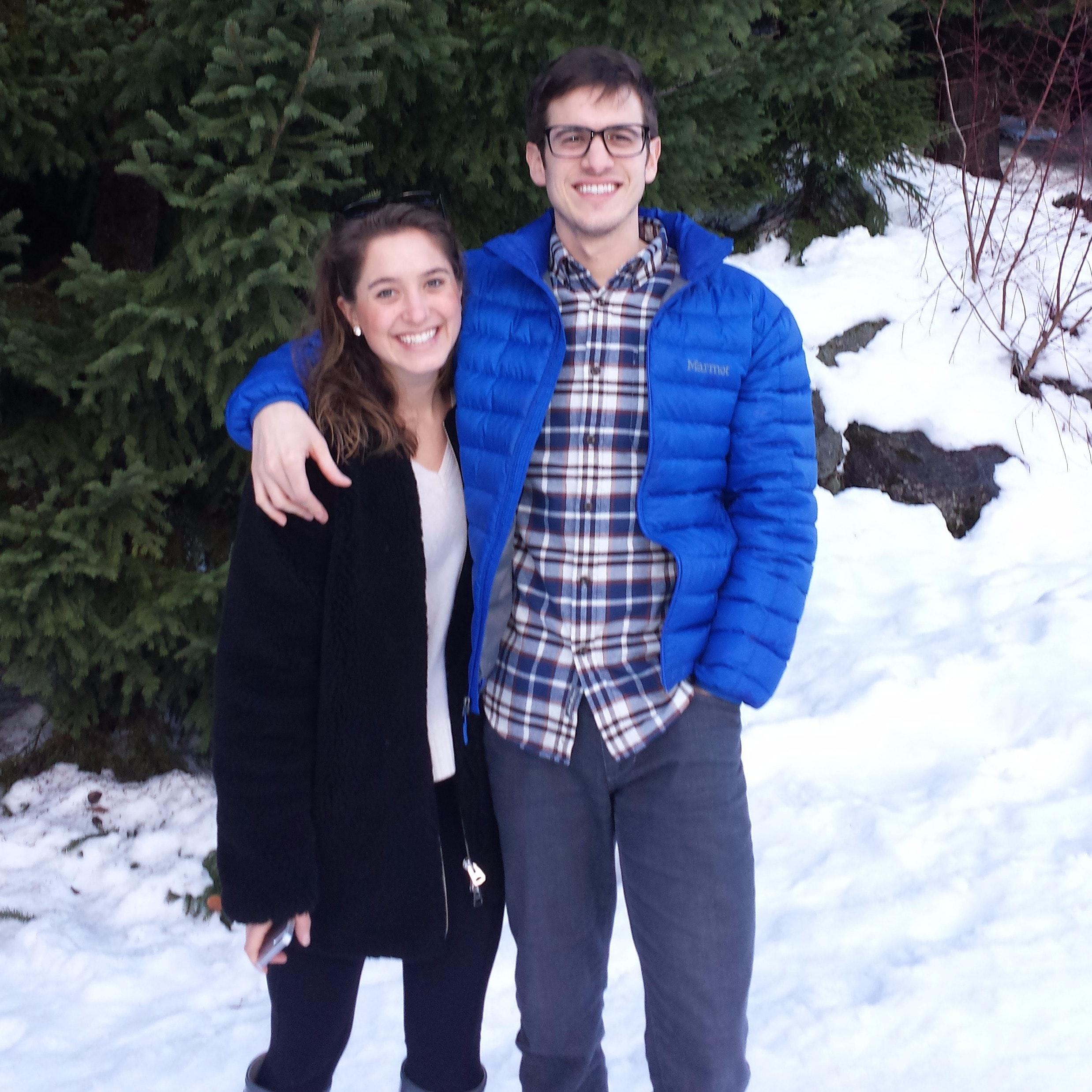 dog walker Tyler & Kendra