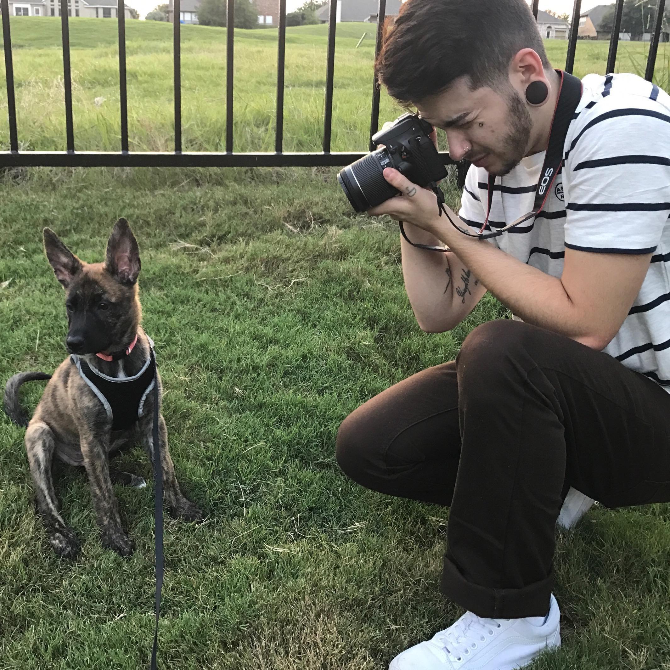dog walker Chrystian
