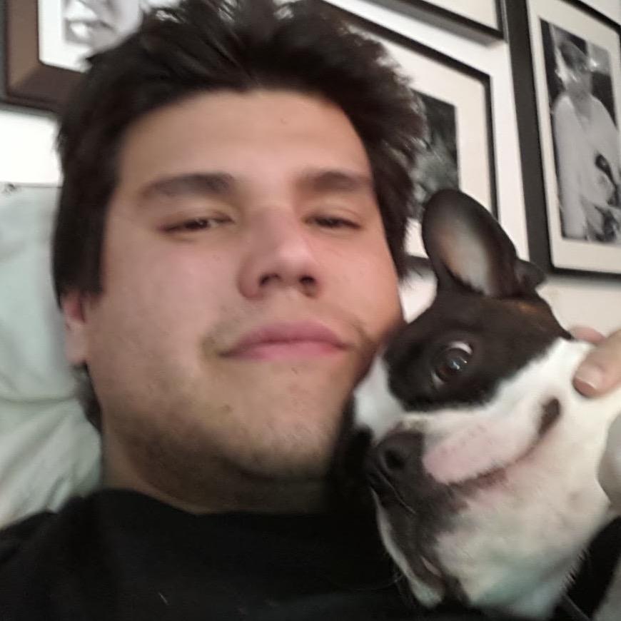 dog walker Hector