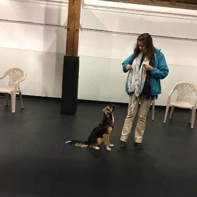 dog walker Rachael