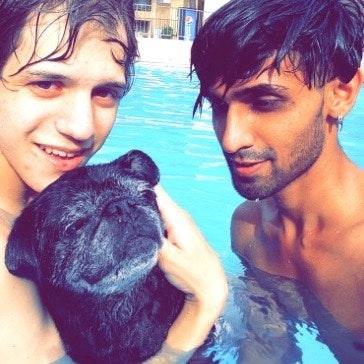 pet sitter Ashish