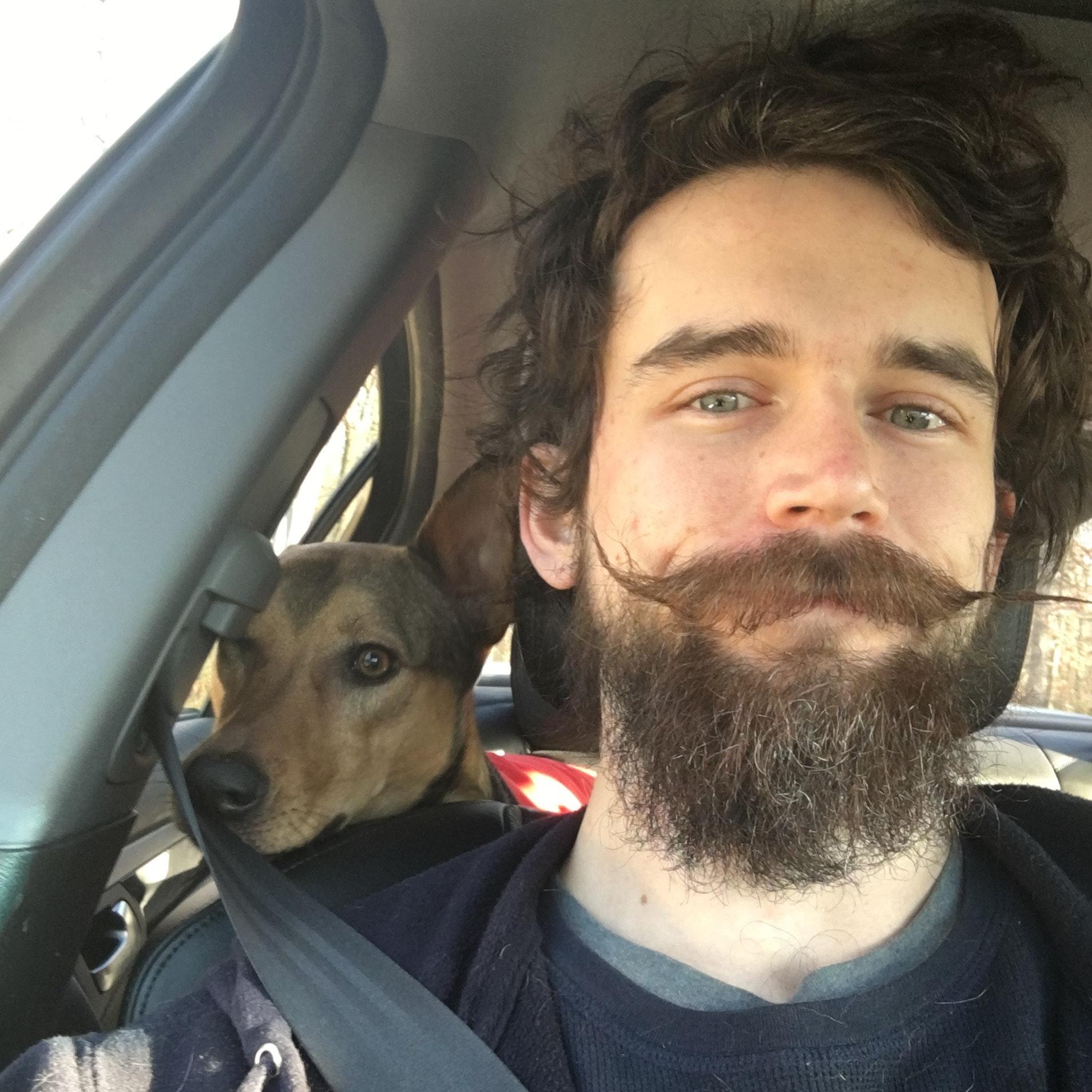 dog walker Sean