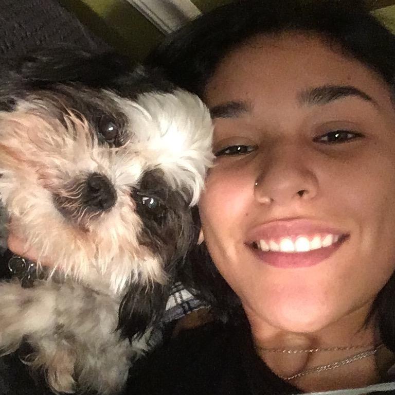 dog walker Bianca