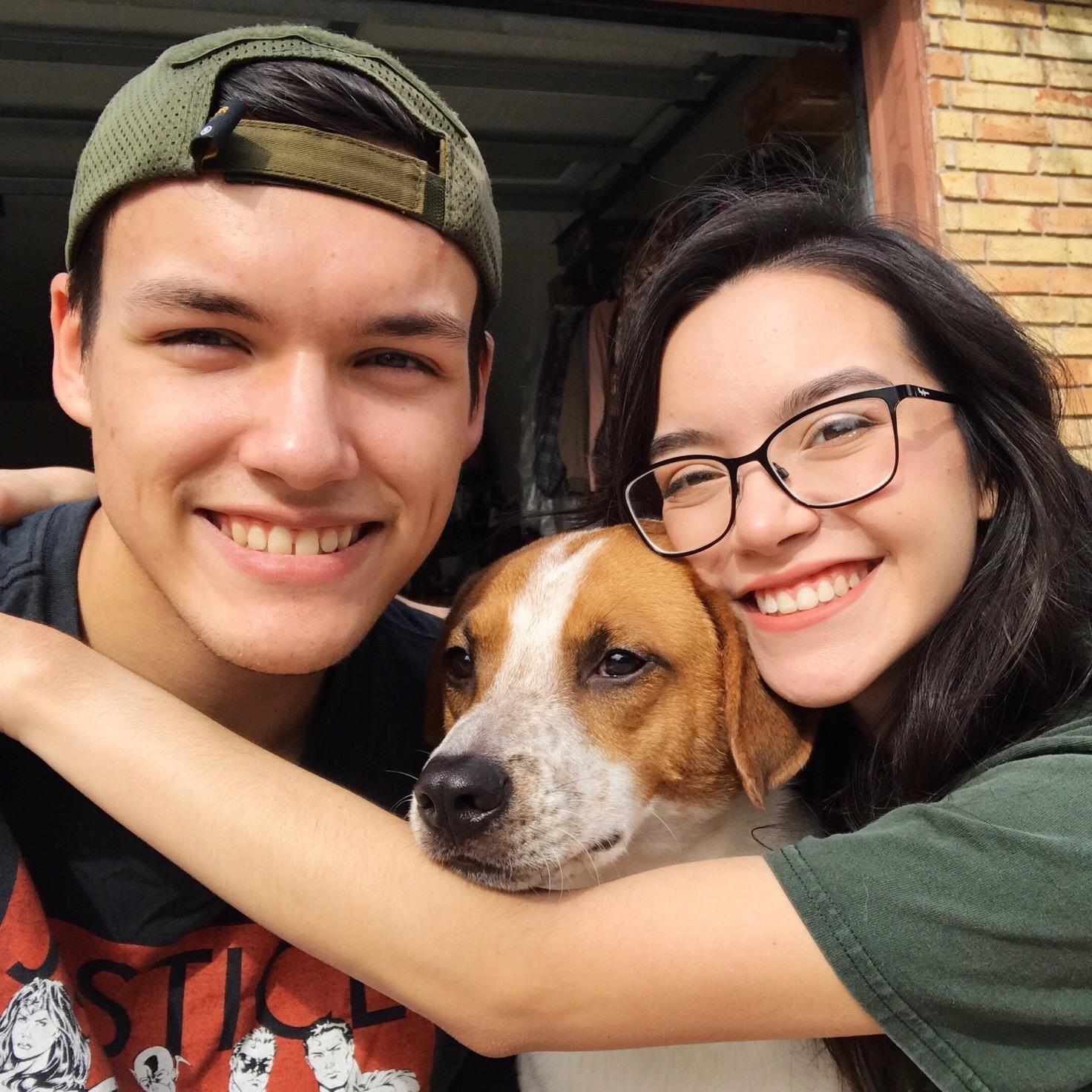 dog walker Justin & Elissa