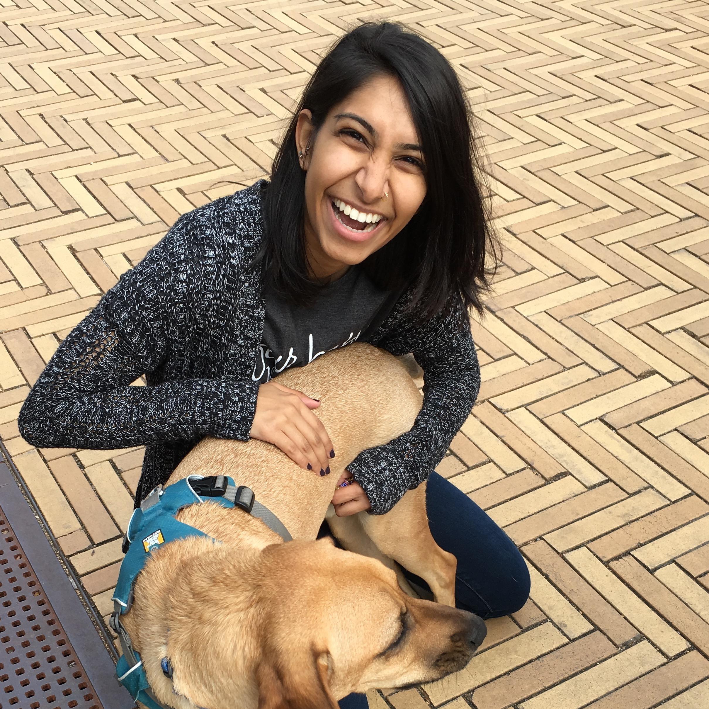 dog walker Esha