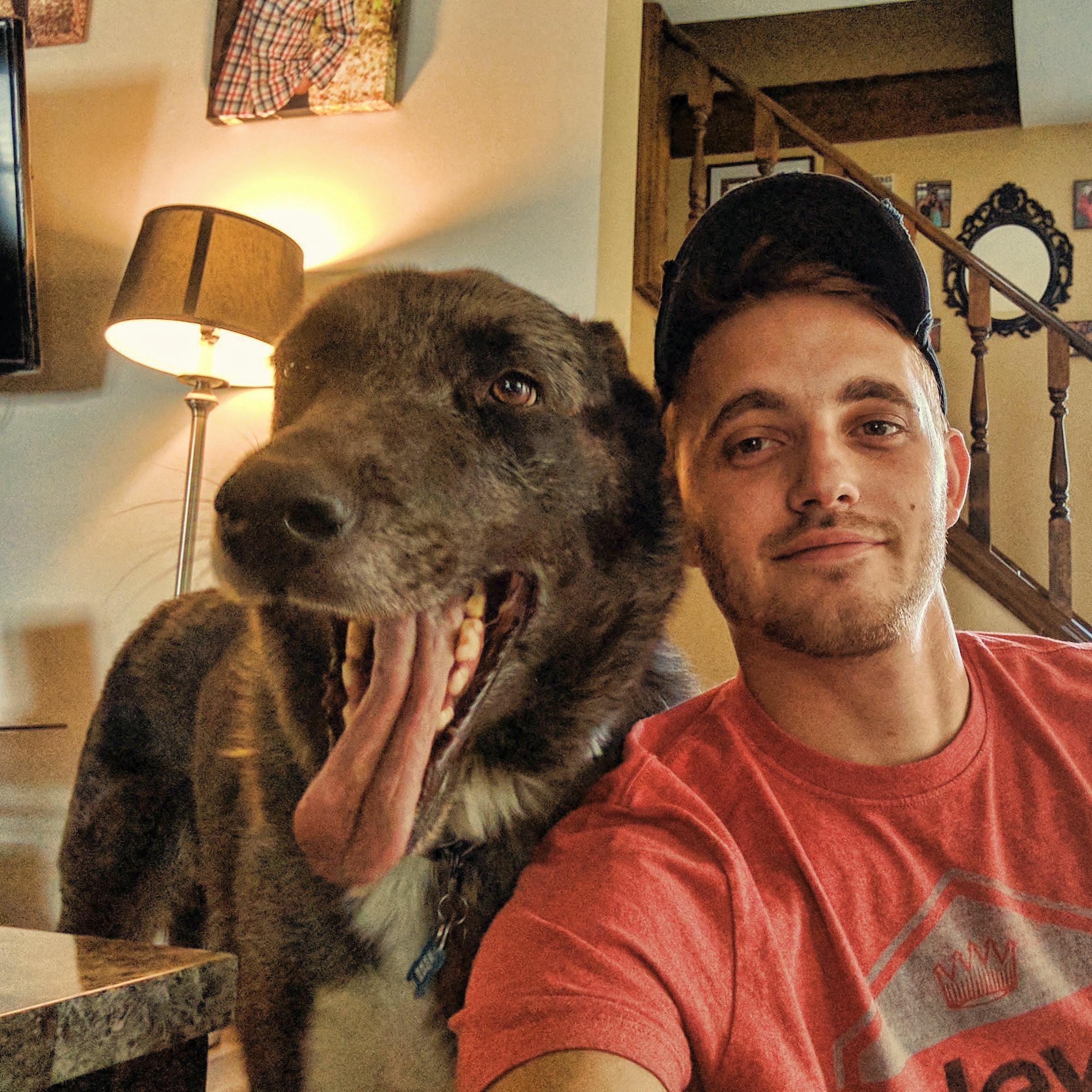 dog walker Devon
