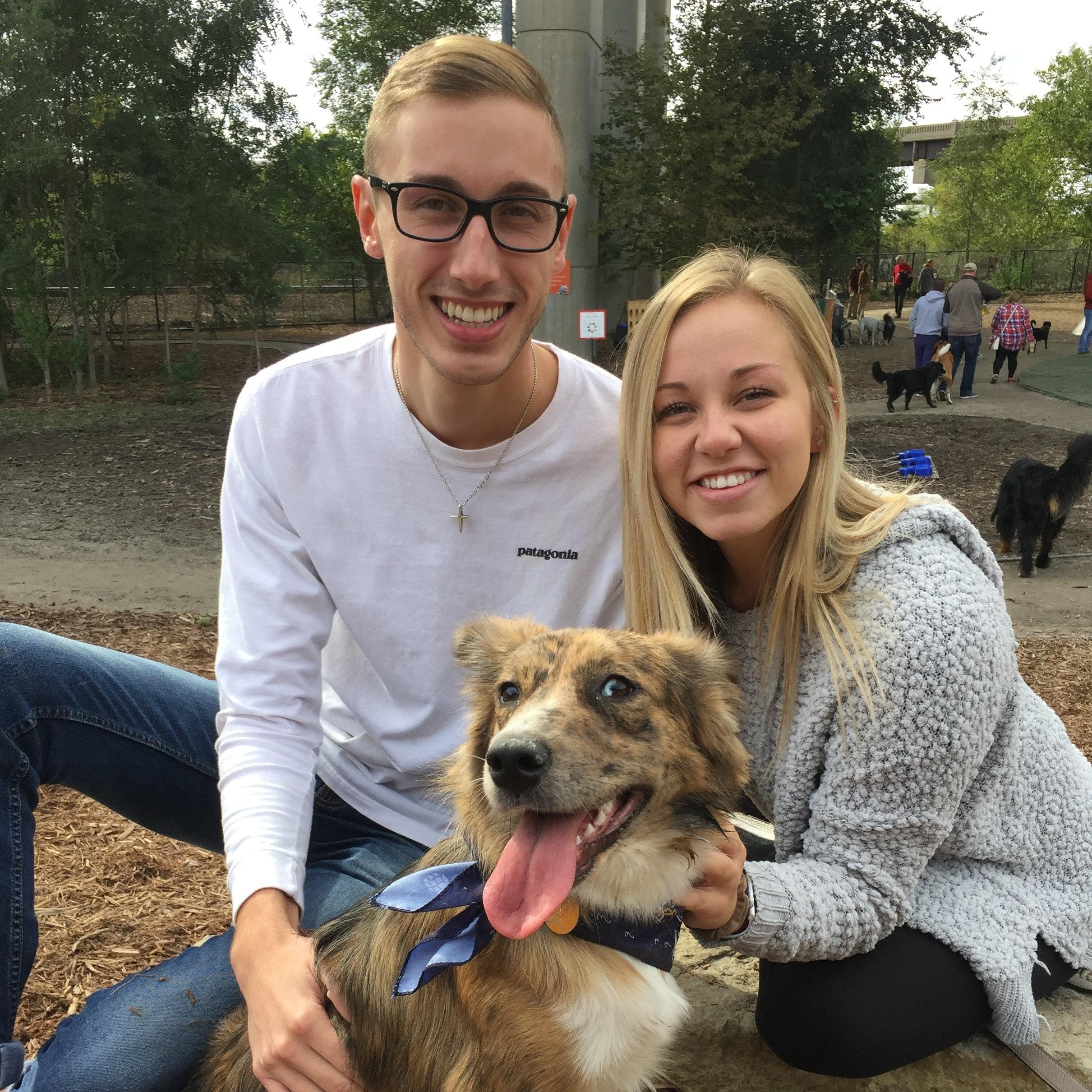 Abby & Thomas's dog boarding