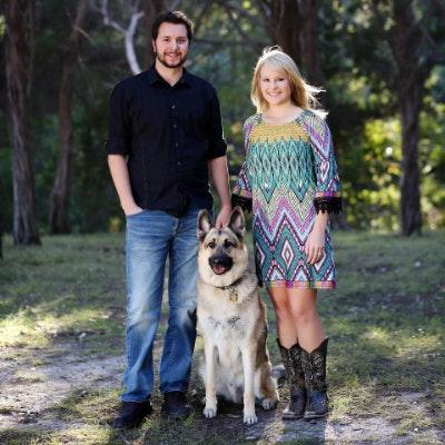 dog walker Wayne & Alyssa