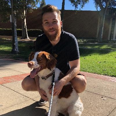 dog walker Kieran