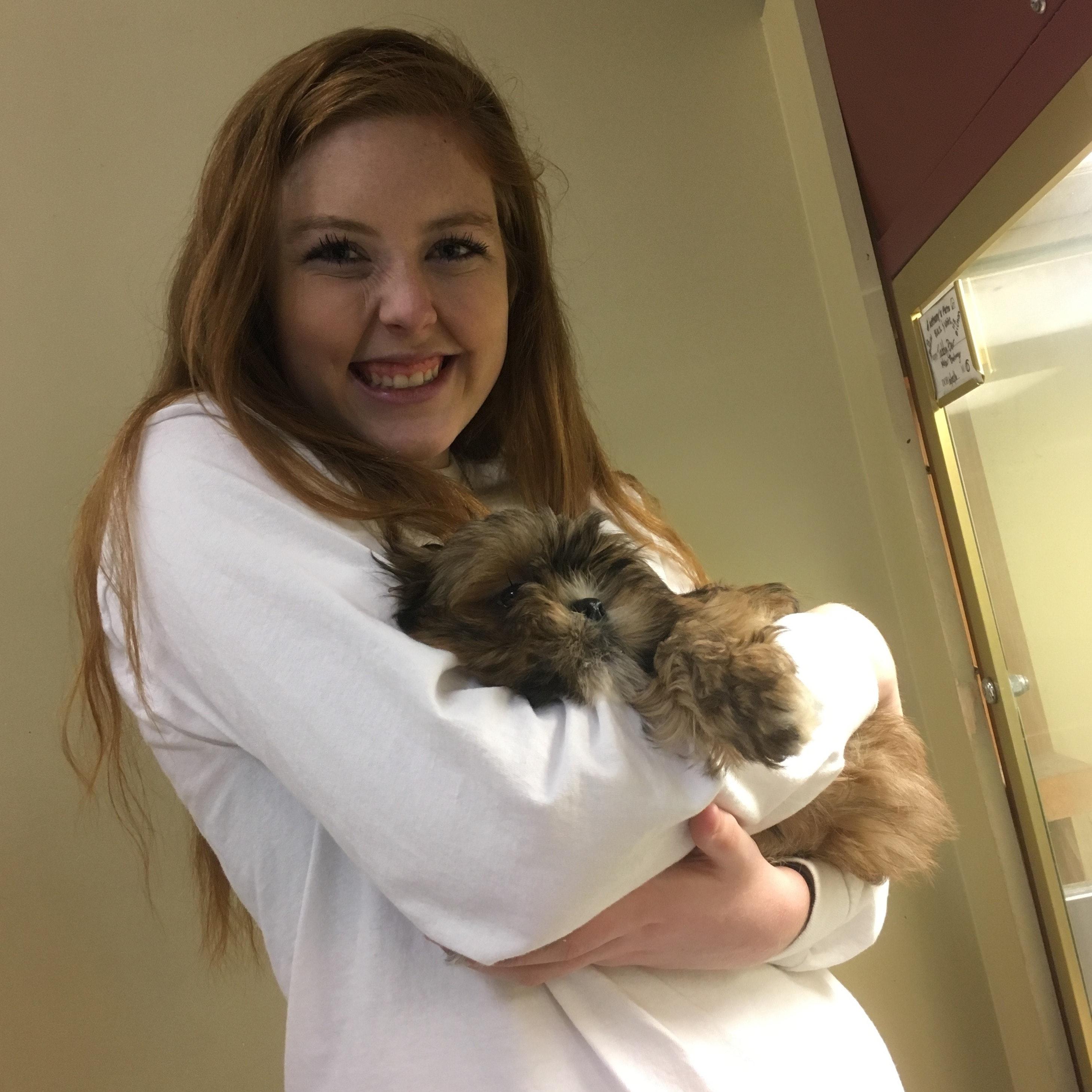 dog walker Madelyne