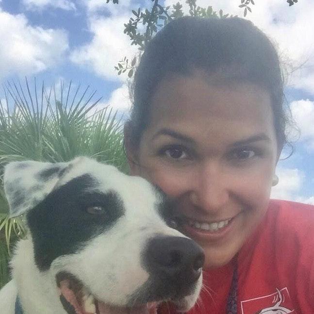 dog walker Isabel