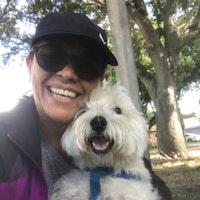 dog walker Hilda