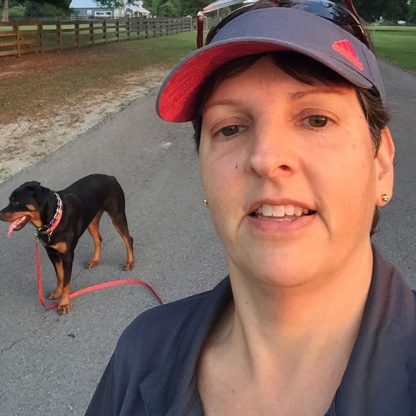 dog walker June