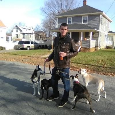 dog walker Neil