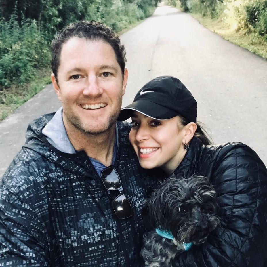 dog walker Matt
