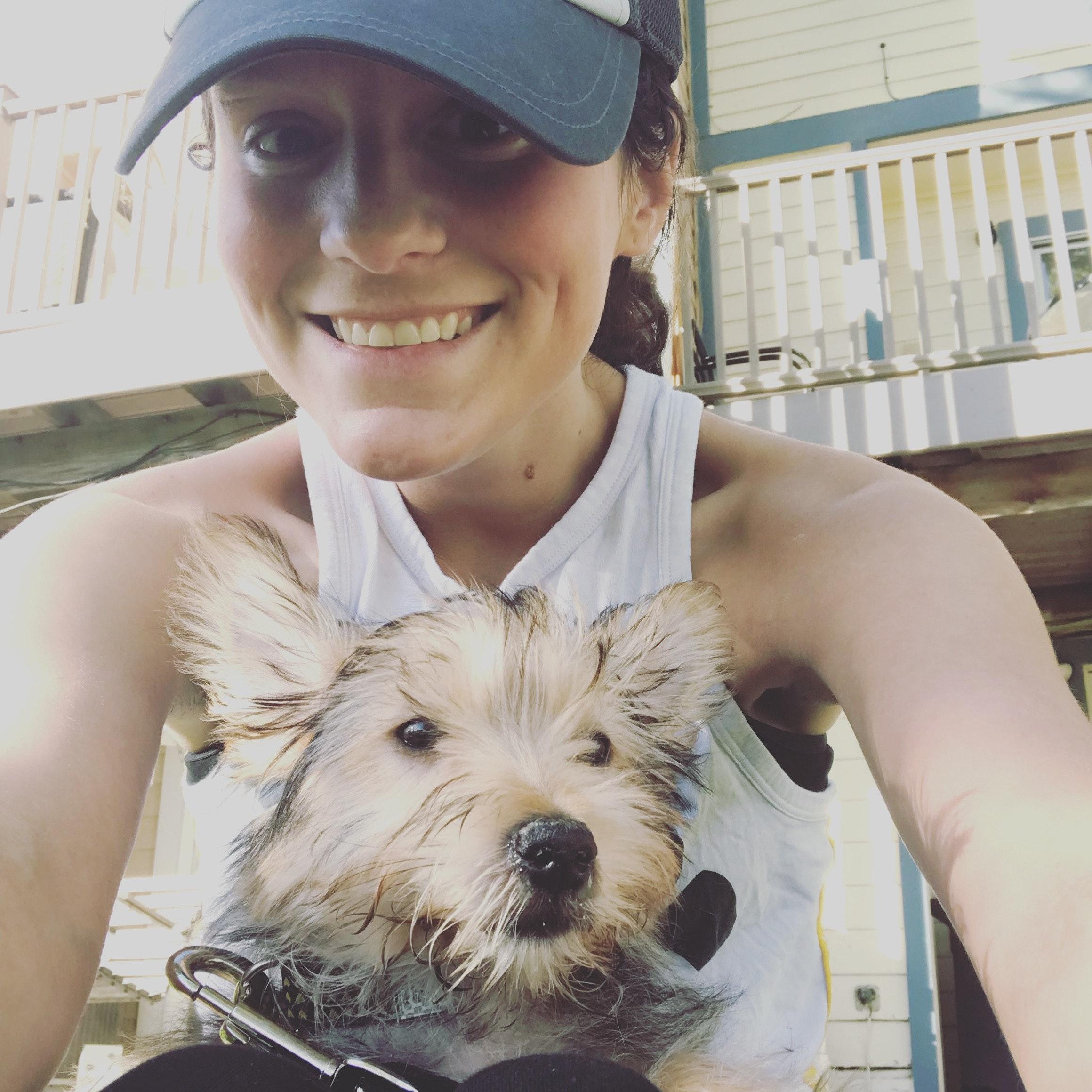 dog walker Sarah