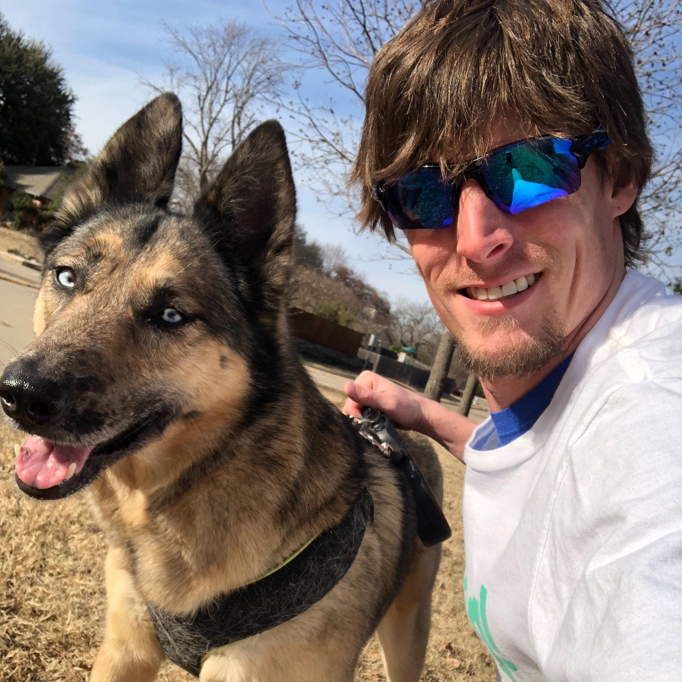 dog walker Todd