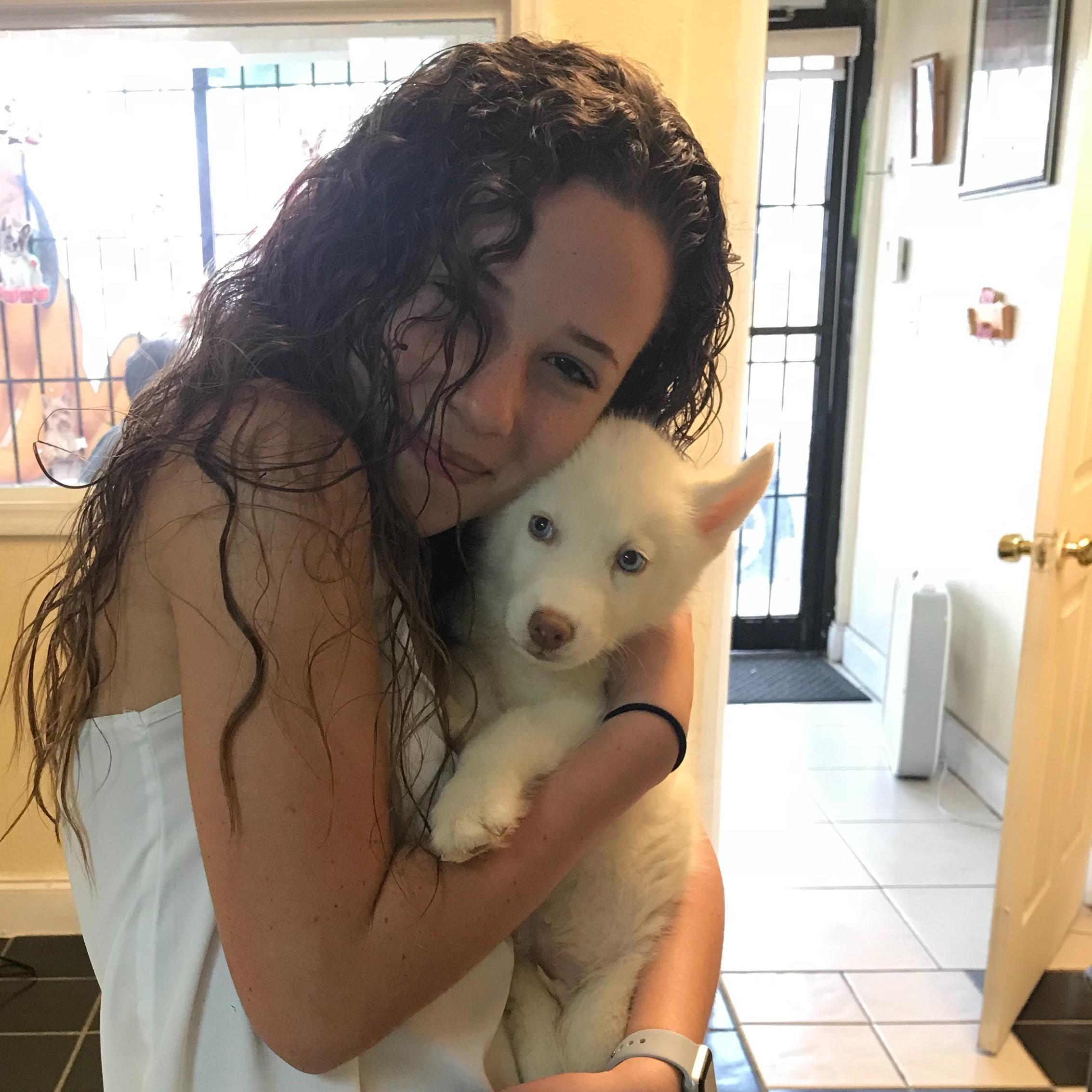 dog walker Beatriz