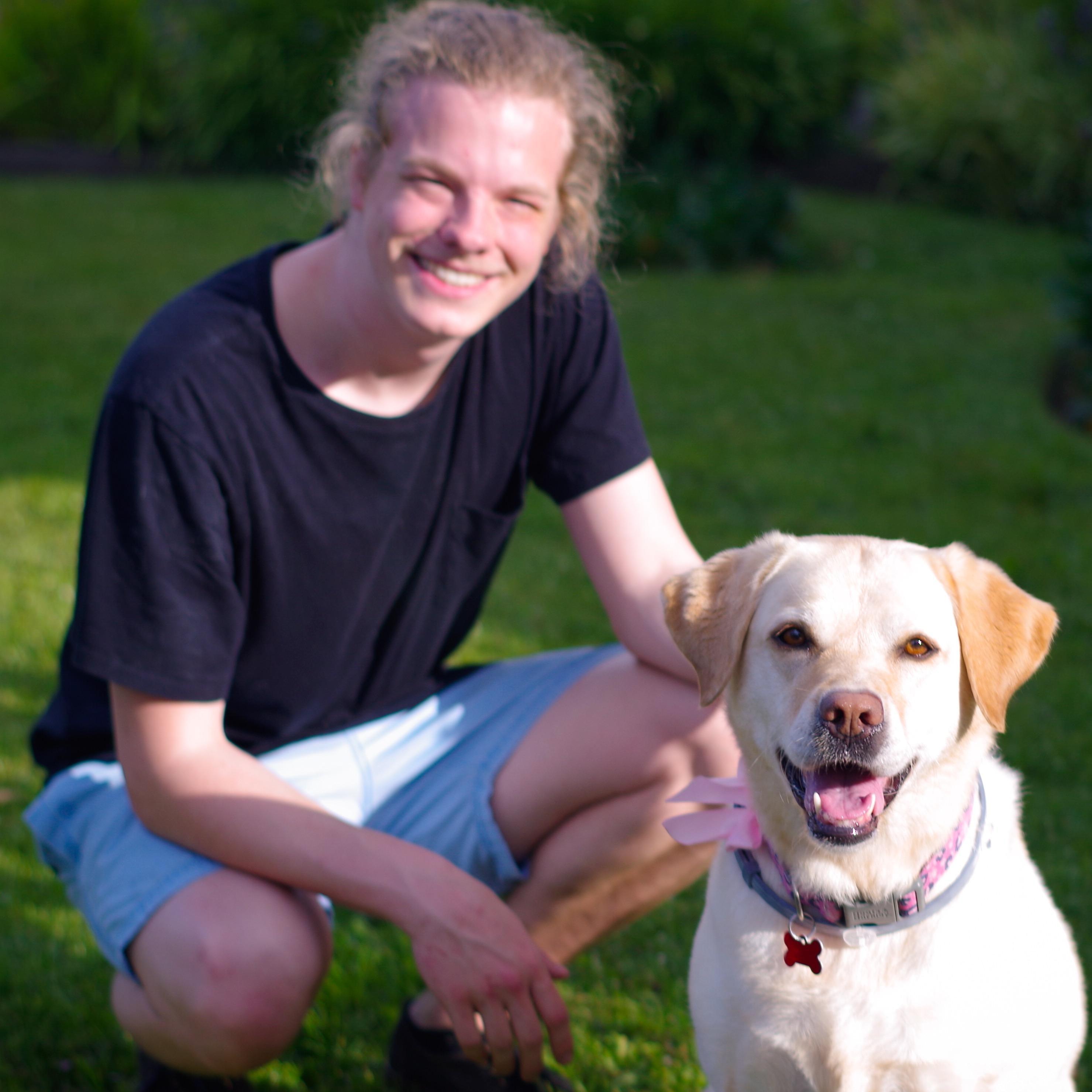 dog walker Drew