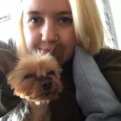 dog walker Evelyn