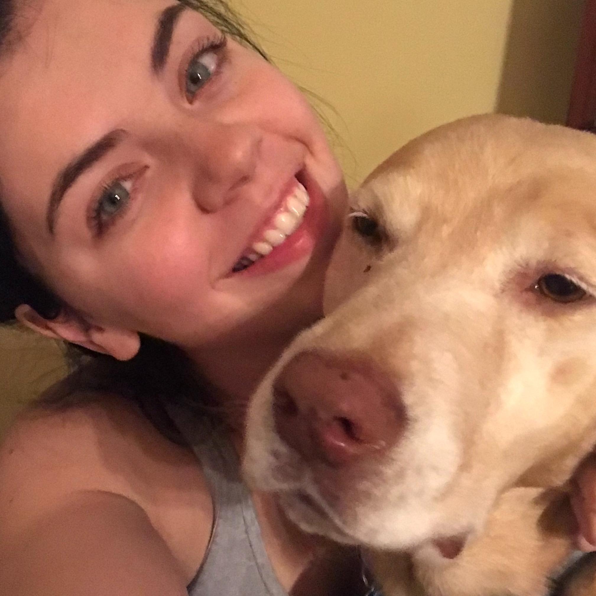 dog walker Kaitlyn