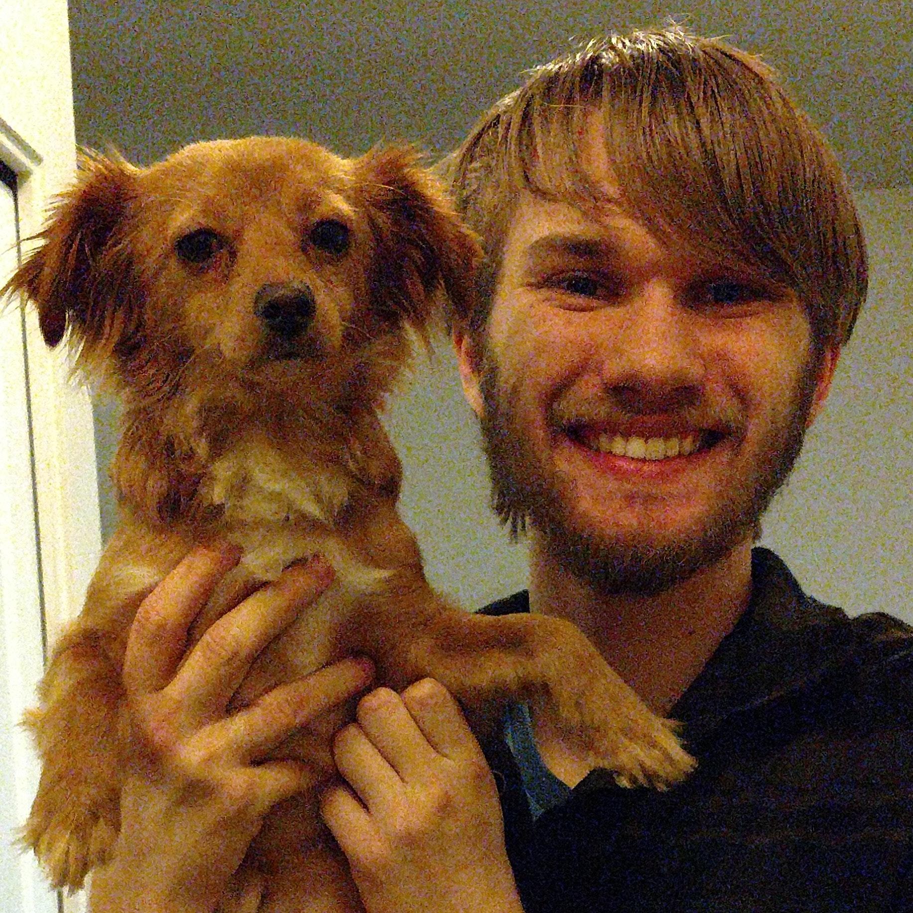 dog walker Martin
