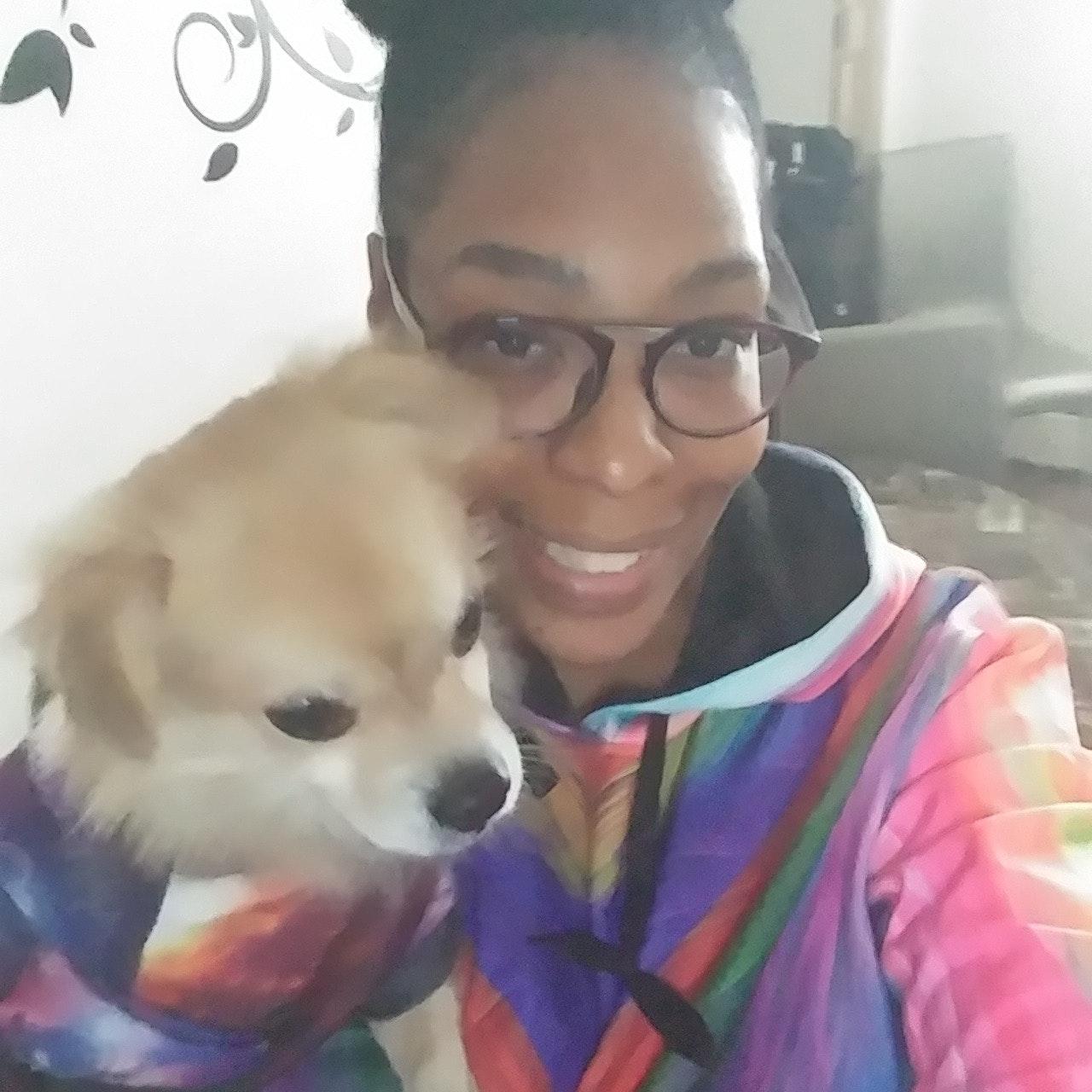 Tiaesha's dog boarding