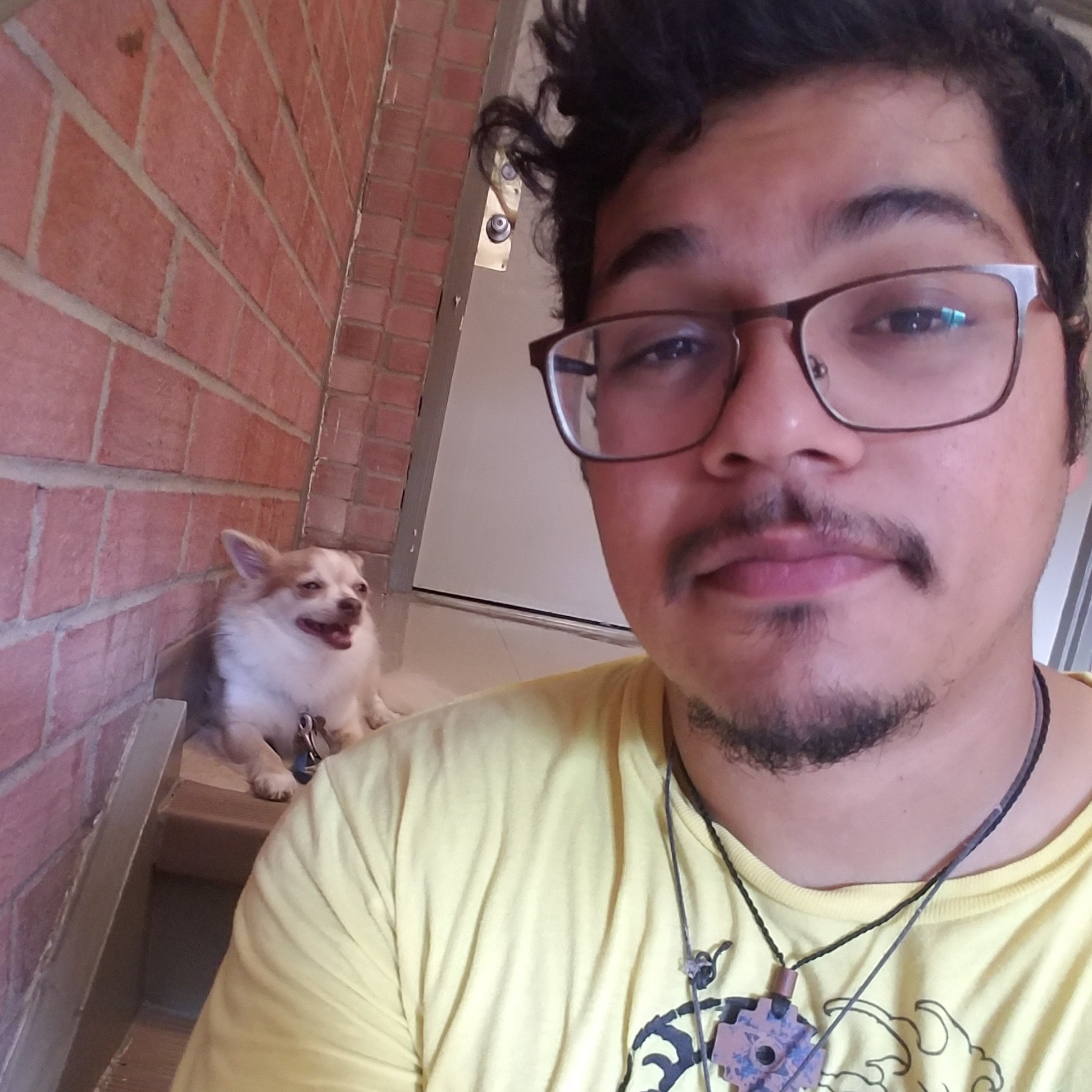 dog walker Reuben