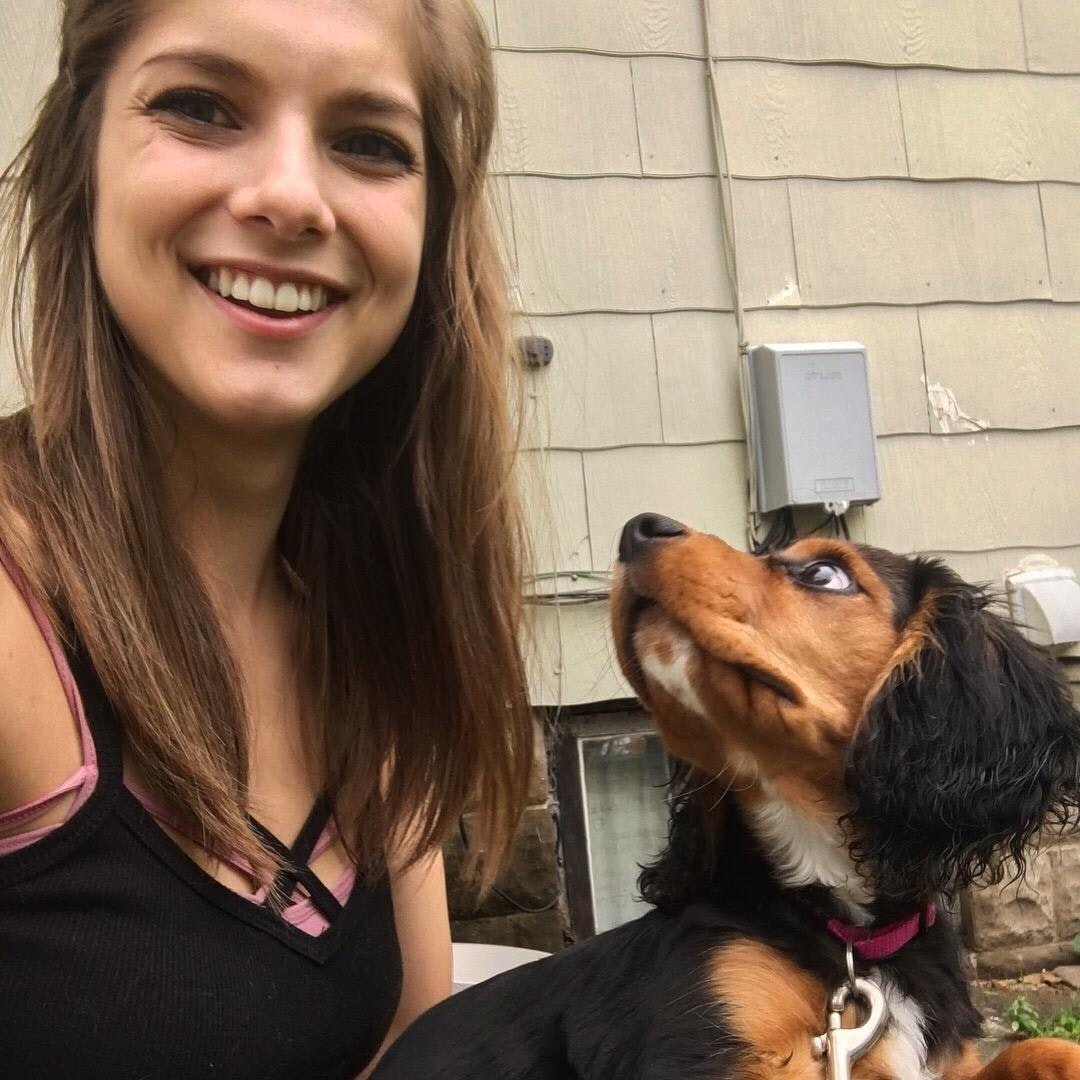 dog walker Megan