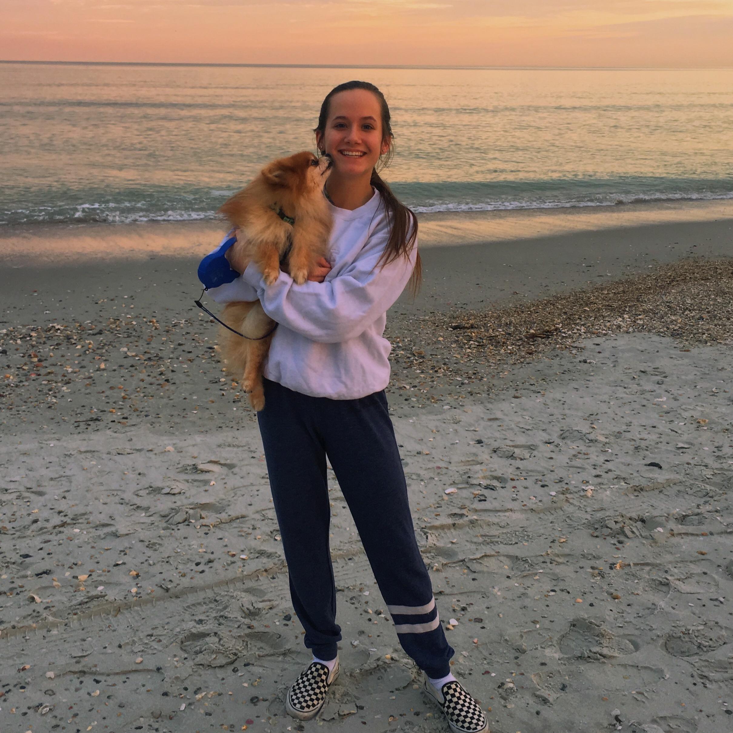 dog walker Amanda