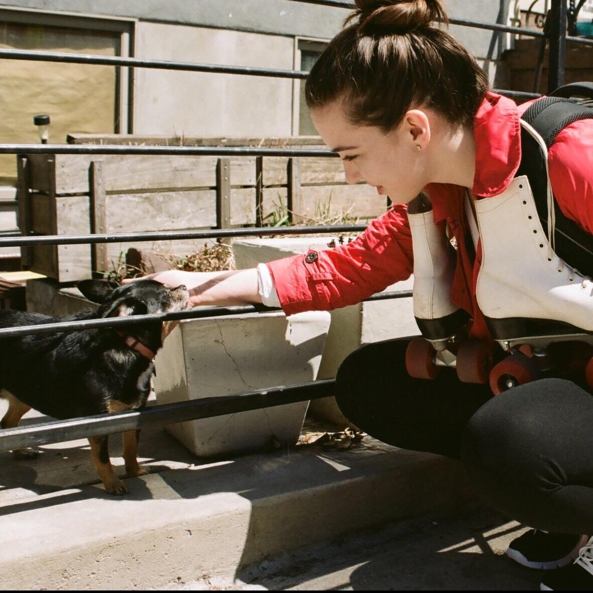 dog walker Adrianne