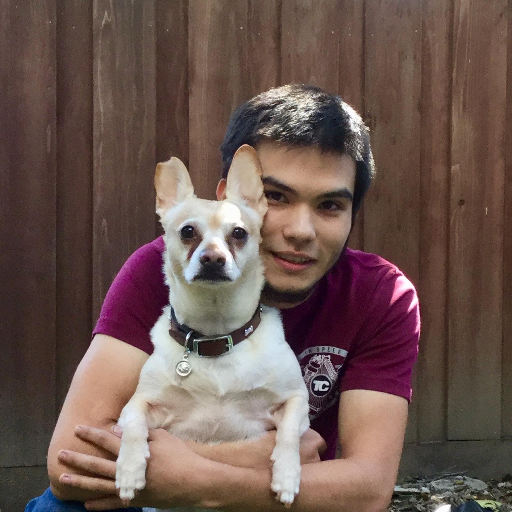 dog walker Benny