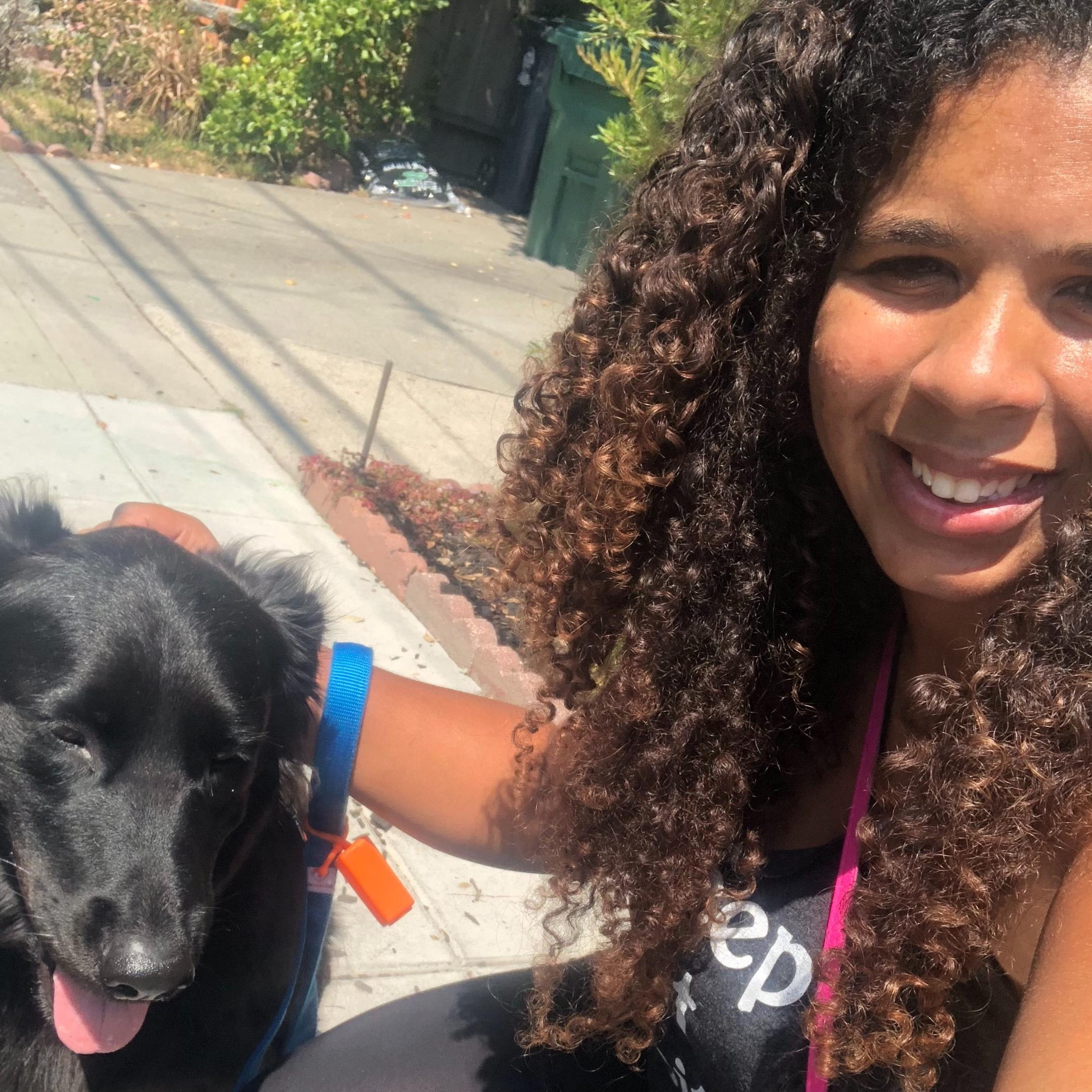 pet sitter Andrielle