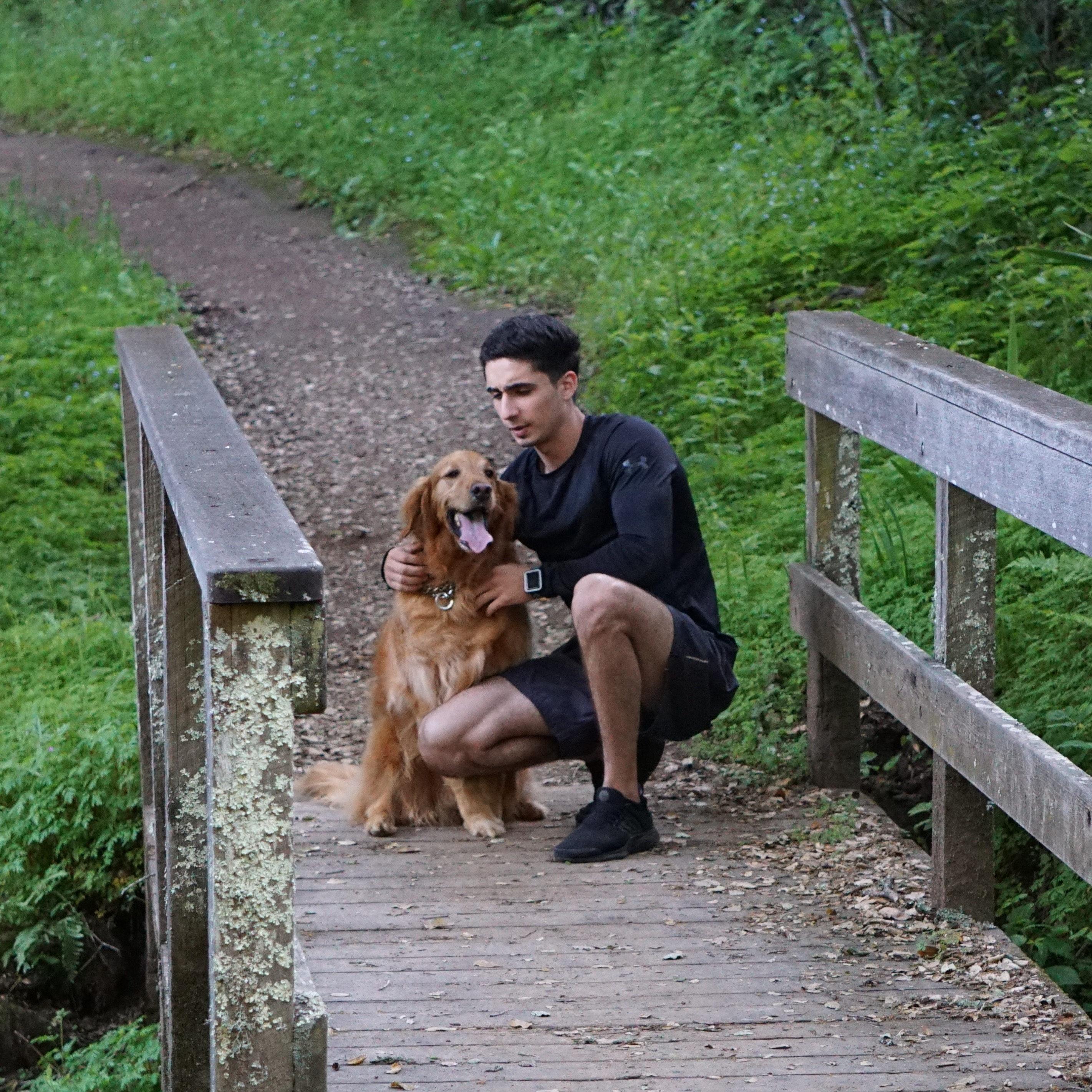 dog walker Ahmad