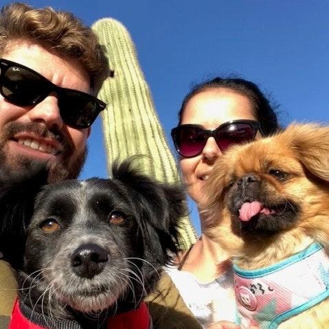 Laercio & Jaciara's dog boarding