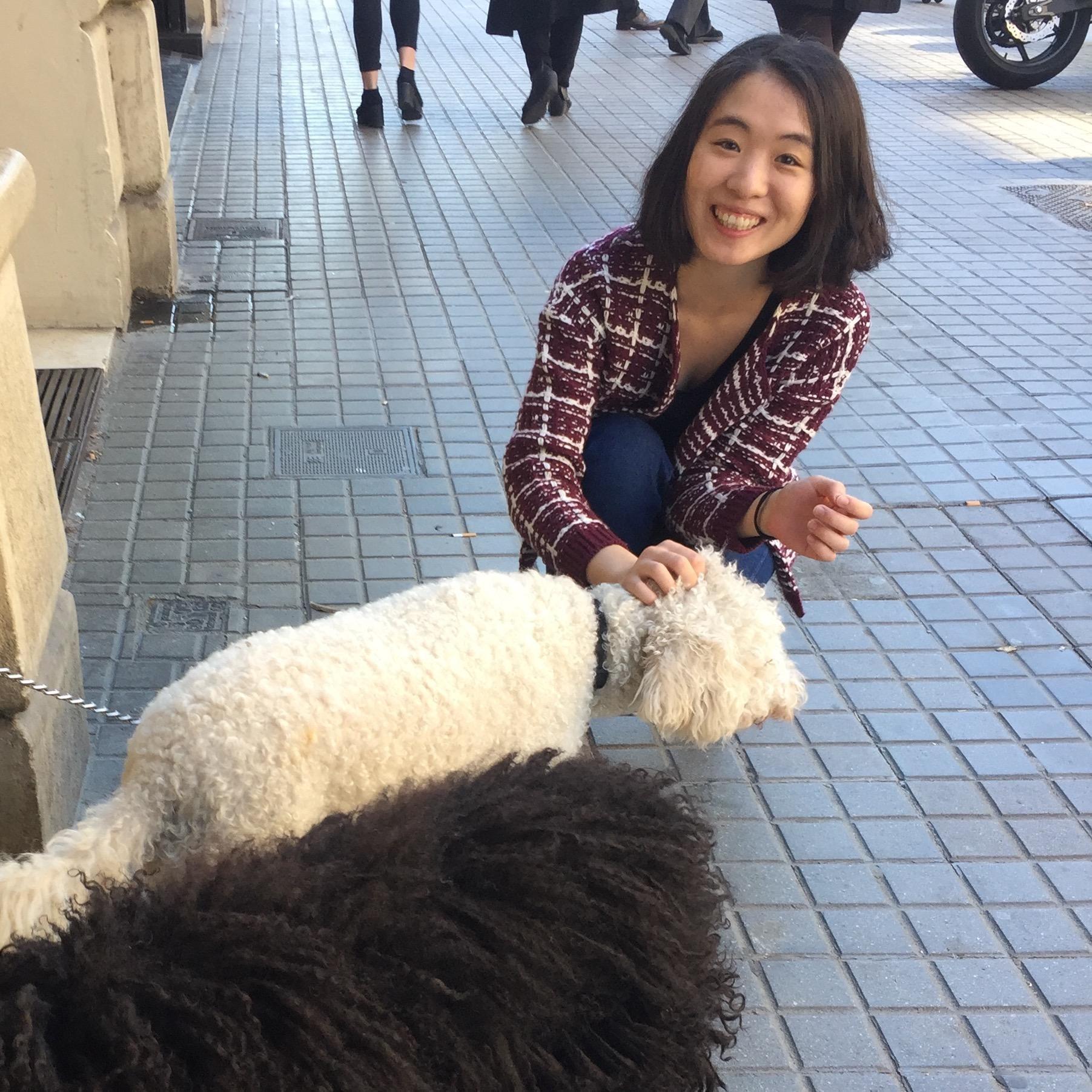 dog walker Julia