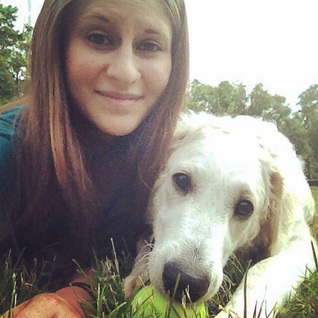 dog walker Lauren