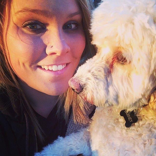 dog walker Ramona