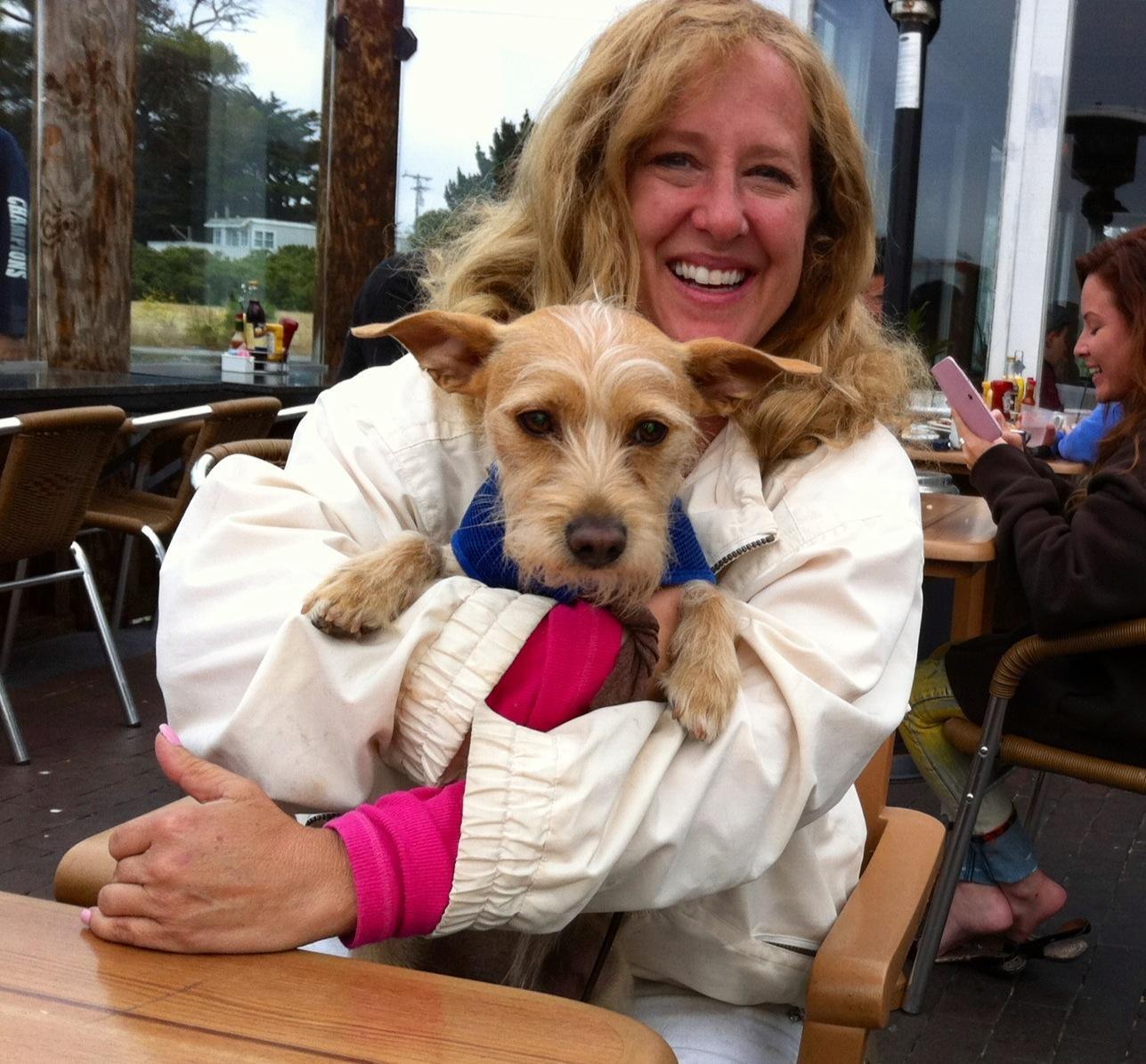 dog walker Caroline