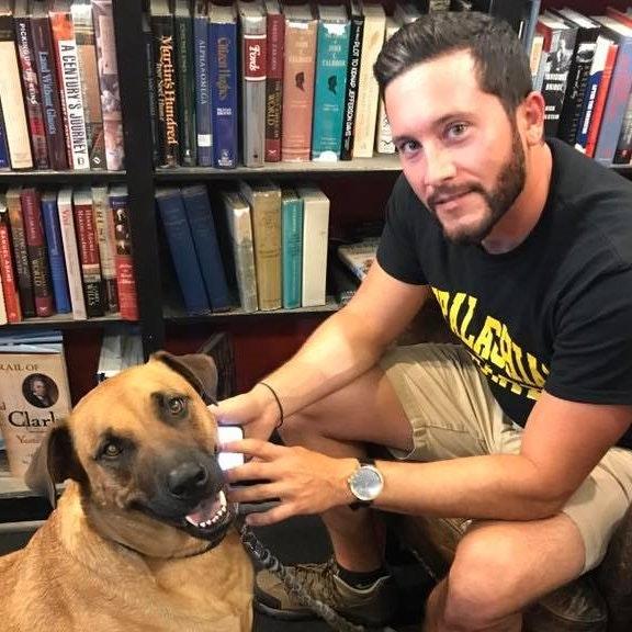 dog walker Nicholas