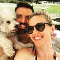Clayton & Jessica's dog boarding
