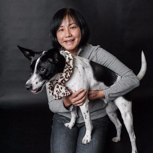 dog walker Isadora